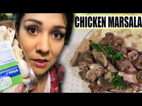 SLOW COOKER CHICKEN MARSALA! - #TastyTuesday