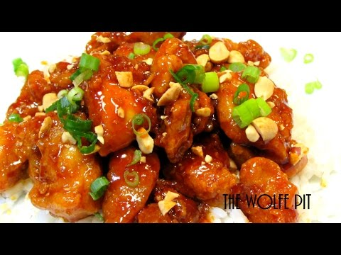 Korean Sweet and Spicy Crispy Chicken Recipe (Dakgangjeong: 닭강정)