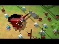 Warcube - HUGE Blue vs Red Army Battles!  Fighting the Boss - Warcube Gameplay