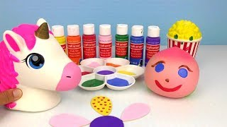 PAINTING SQUISHES  - colors