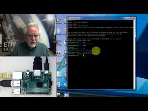 Raspberry Pi Linux LESSON 18: Remotely Connect from Windows with Putty SSH Telnet Client