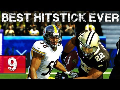 Madden NFL 25 PS4 Gameplay Ultimate Team - Ep.9 - BEST HITSTICK EVER - Madden 25 MUT