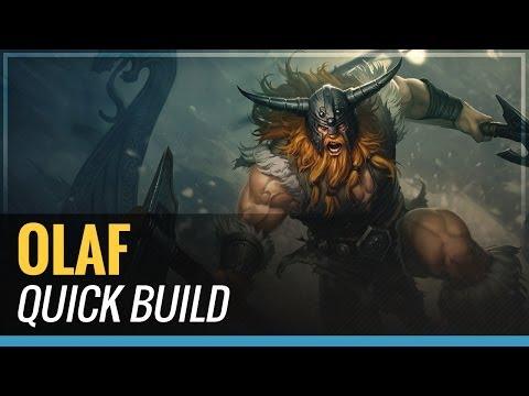Olaf - S4 Quick Build - League of Legends