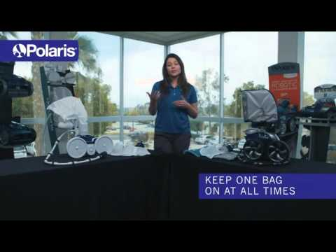 Pressure Pool Cleaner Tips- Using Two Bags
