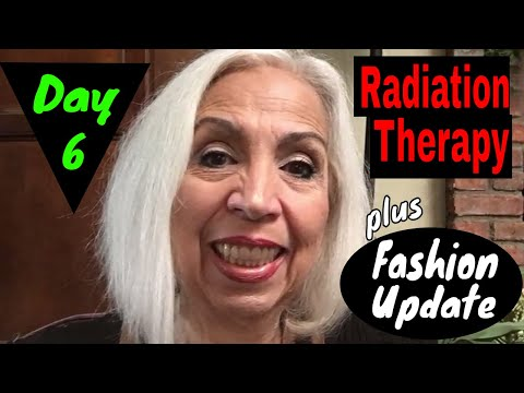 Radiation Therapy - Day 6 - & A Quick Fashion Show