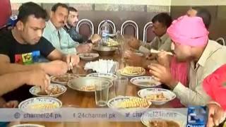 24 Report: Wrestlers breakfast in Gujranwala