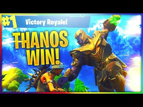 *FIRST WIN* PLAYING AS THANOS!