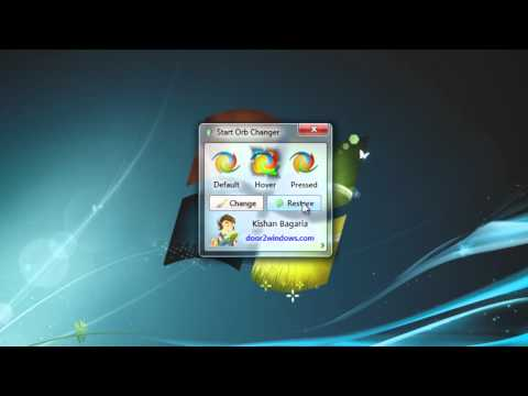 Tweaking Windows 7 | How to Change Your Windows 7 Start Orb In Just A Few Clicks!