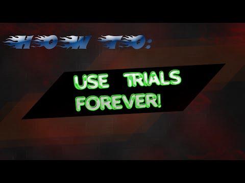 (AMAZING!!) Make Trials Last FOREVER!!![2017]