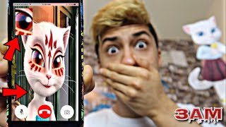 DO NOT FACETIME TALKING ANGELA AT 3AM!! *OMG SHE CAME TO MY HOUSE*