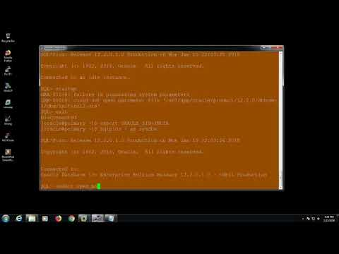 how to connect with oracle database 12c|bash_profile|first time