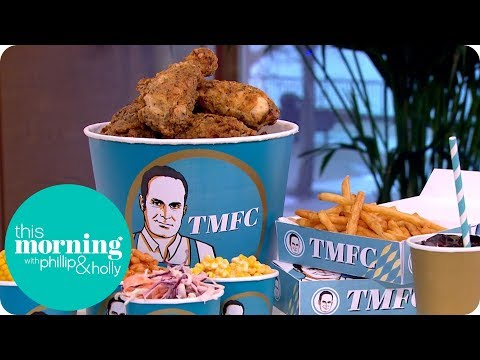 Phil Vickery's Southern Fried Chicken   This Morning