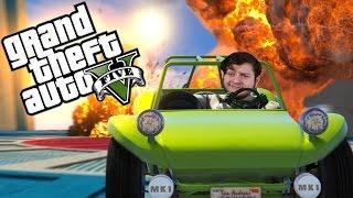 GTA 5 - TINY RACERS! (GTA 5 PC Online Funny Moments!)