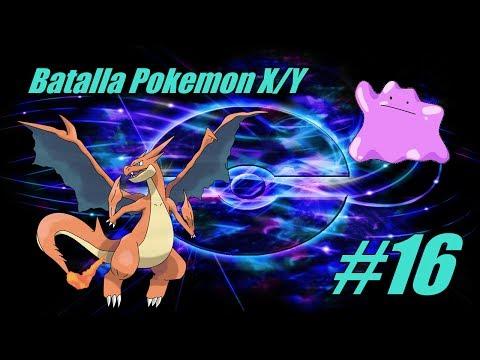 Pokemon X/Y Batalla #18 Ven-Ditto Charizard Y