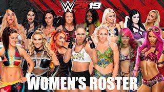 WWE 2K19 Female Roster Videos - 9tube tv