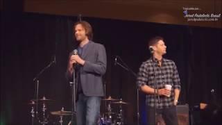 Jared e Jensen -  No que eles são ruins (SPNLV GOLD 2018)
