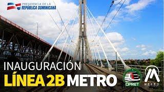 Inauguración Línea 2B Metro