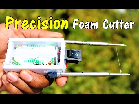 DIY - How to make a Foam Cutter at Home