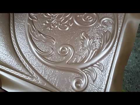 Decorative 3D leather embossing machine