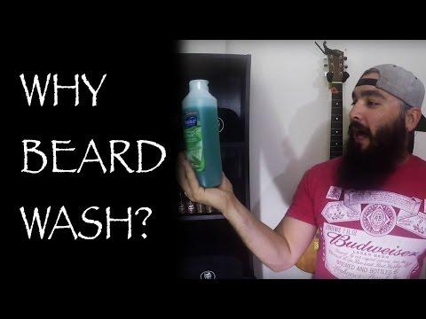 Commercial Shampoo vs. Beard Wash