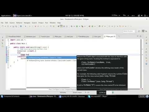 Add sqlite jar file and connection database in eclipse