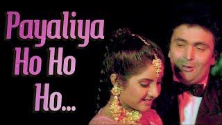 Payaliyan Oh Ho Ho Ho (HD) - Deewana Song - Rishi Kapoor - Divya Bharti - Filmigaane