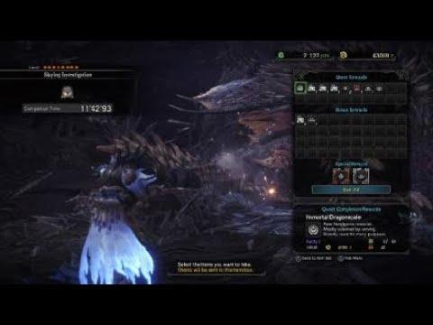 Monster Hunter: World - Solo Nergigante LBG