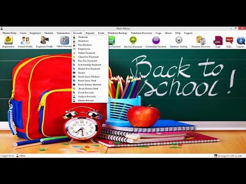 School Management Software In C#
