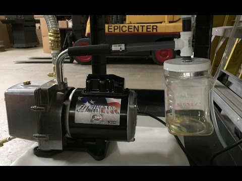 DIY Gunk / Oil Catcher for JB Industries Pump - Harvest Right Home Freeze Dryer