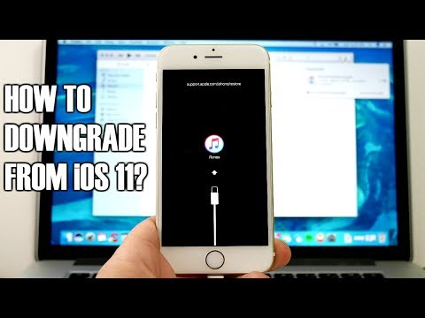 How To Downgrade From iOS 11 To iOS 10.3.2?