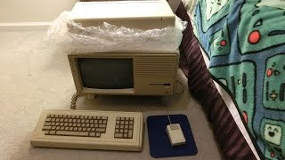 Apple Lisa Restoration part 1: melted rubber and external hard drive