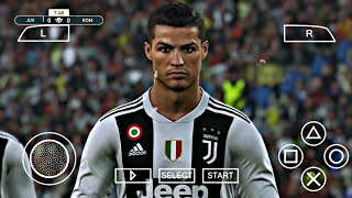 PES 2019 PPSSPP CAMERA PS4 DOWNLOAD ANDROID 2019 CRISTIANO