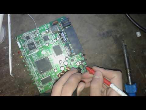 Repairing WiFi Modem Blown Fuse