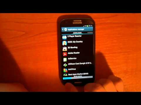 How to unblock apps on Samsung Galaxy s3