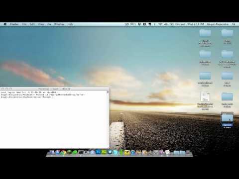 MINECRAFT -  How to setup a Minecraft local server [ MAC   HD ]*