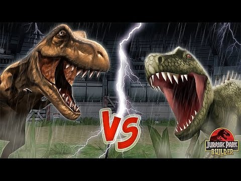 T-Rex Or Giganotosaurus, Who Would Win? || Jurassic Park Buider