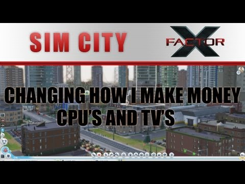 SimCity - Changing how I make money: The CPU and Computer game