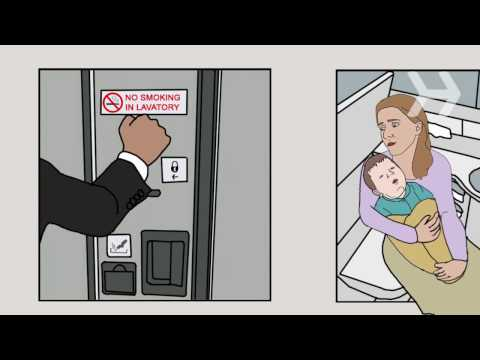 How to Keep a Baby Calm on a Flight