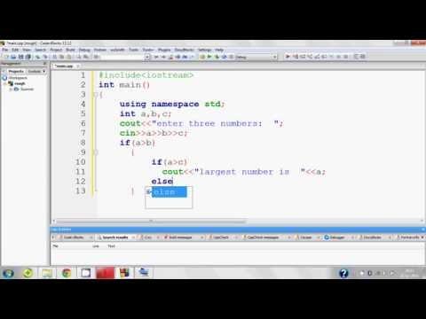c++ program(largest number)