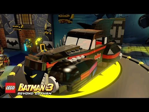 lego batman 3 - Beyond Gotham - Man Bat and New Cars!