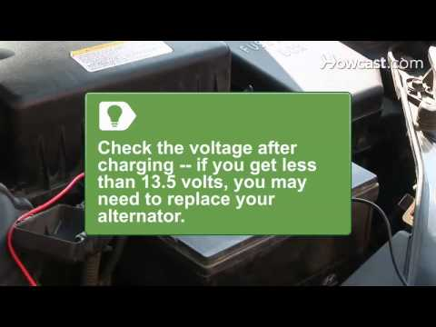 How to Check Car Battery Amps