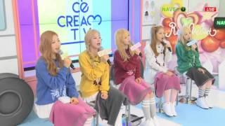 Red Velvet (레드벨벳) - Somethin Kinda Crazy Live @150318 음악감상회 레드벨벳의 아이스크림TV