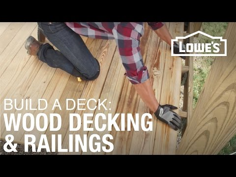 How To Build a Deck | Wood Decking & Railings (3 of 5)