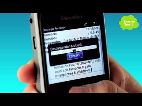 BlackBerry 8520 - Cómo configurar Facebook