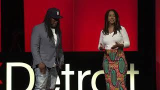Co-Parenting as Allies, not Adversaries | Ebony Roberts & Shaka Senghor | TEDxDetroit