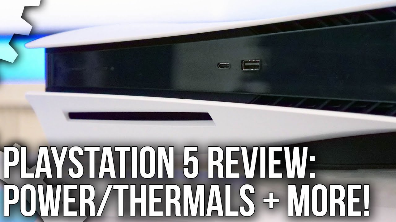 PlayStation 5 Review: Power, Thermals, Storage, DualSense + HDMI 2.1 Analysis