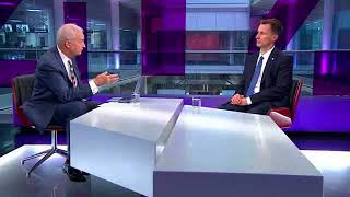 Jeremy Hunt on the NHS winter crisis