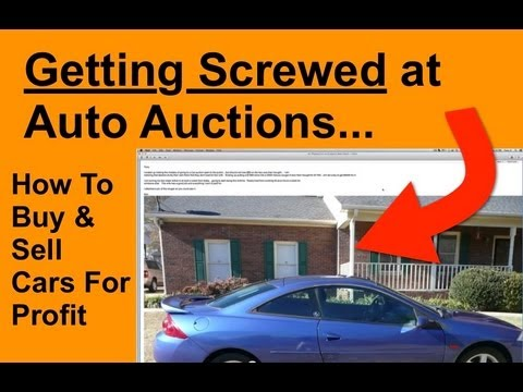 How To Buy And Sell Cars For Profit - Screwed at Auctions