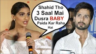 Sonam Kapoor Takes A DIG At Shahid Kapoor At Veere Di Wedding Trailer Launch