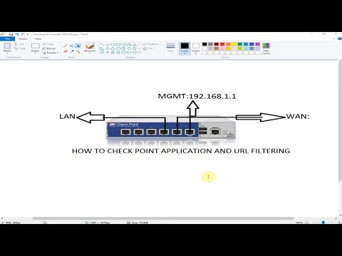 Application and URL Filtering in Checkpoint Firewall - Part 8